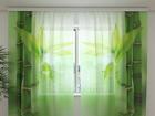 Sifonki-kuvaverho GREEN BAMBOO 240x220 cm ED-99960