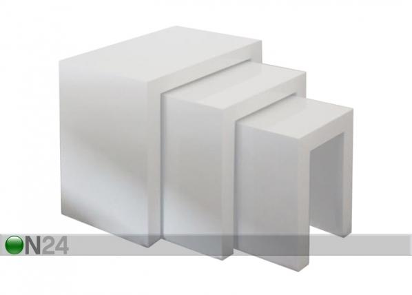 Sohvapöytä ARAGON, 3 kpl AQ-100010
