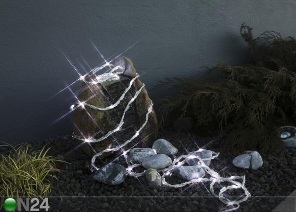Valoketju WATERFALL 192 LED, vilkkuva AA-100092