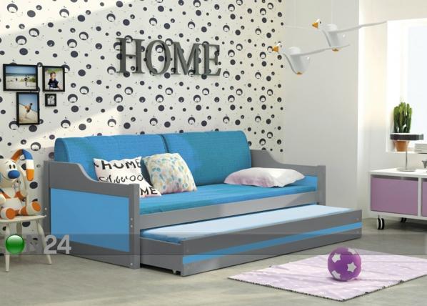 Lasten sänkyryhmä 2-le, 80x190 cm TF-100323