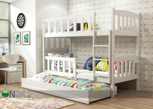 Lasten sänkyryhmä 3-le 80x190 cm TF-100391
