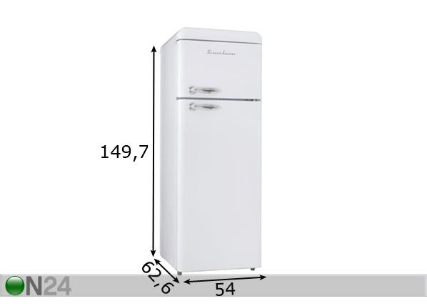 Retrojääkaappi SCHAUB LORENZ SL210SW EL-100915