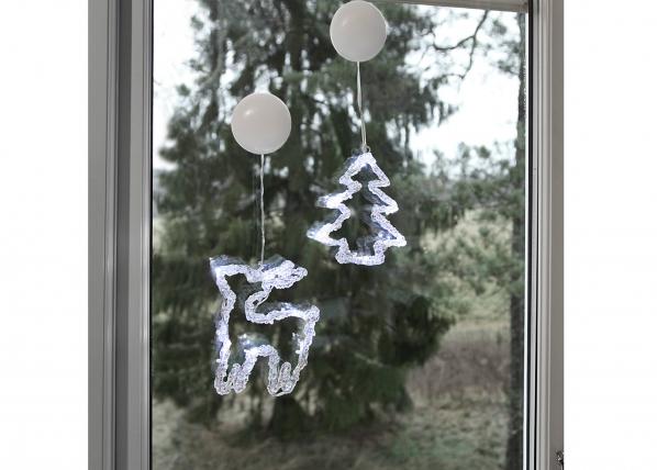 Ikkunan joulukoriste PORO+KUUSI AA-101098