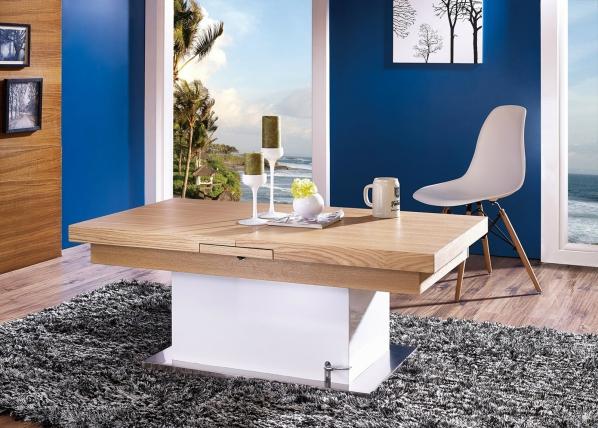 Säädettävä sohvapöytä/ruokapöytä 70x125-150 cm AY-101181
