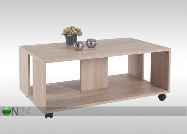 Sohvapöytä pyörillä ROBIN 105x60 cm AY-101499