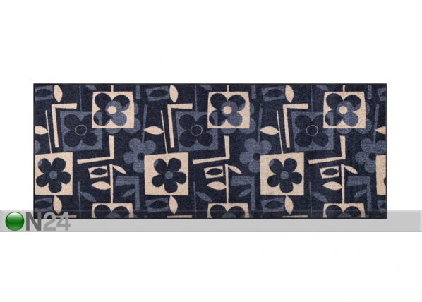 Matto FLOURISH GREY 75x190 cm A5-101712