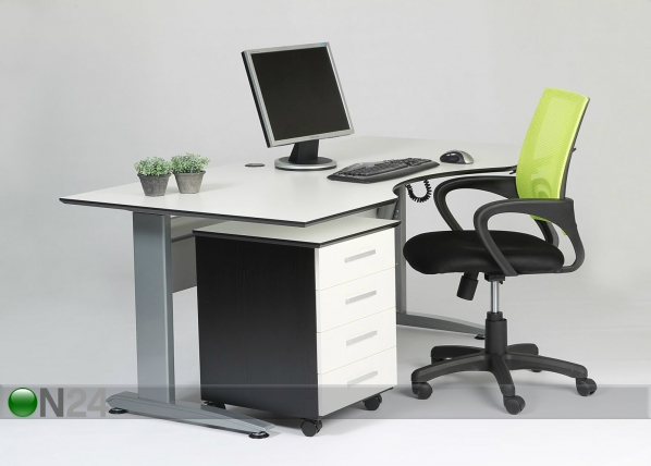 Sähkösäädettävä työpöytä 180x80 cm AY-101987