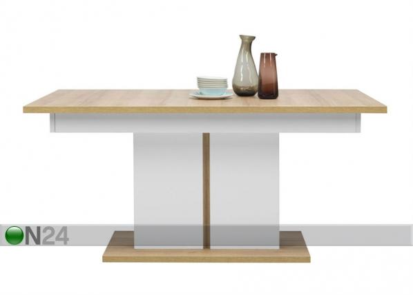 Jatkettava ruokapöytä 90x160-200 cm TF-102268