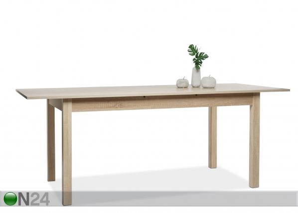 Jatkettava ruokapöytä COBURG 90x160-200 cm AY-102750