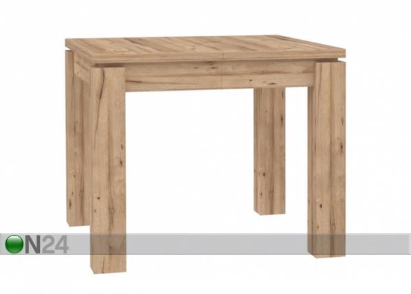 Jatkettava ruokapöytä 90-180x90 cm TF-102999