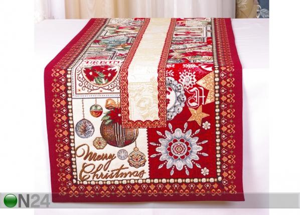 Gobeliinikangas joululiina JOY 45x140 cm TG-103132