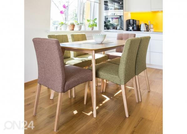Ruokapöytä ENRICH 140x80 cm EV-103281