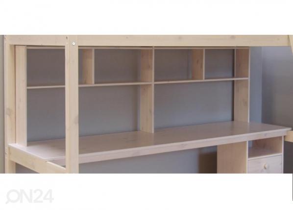 Työpöytä hyllystöllä korkeaan parvisänkyyn FX-103556