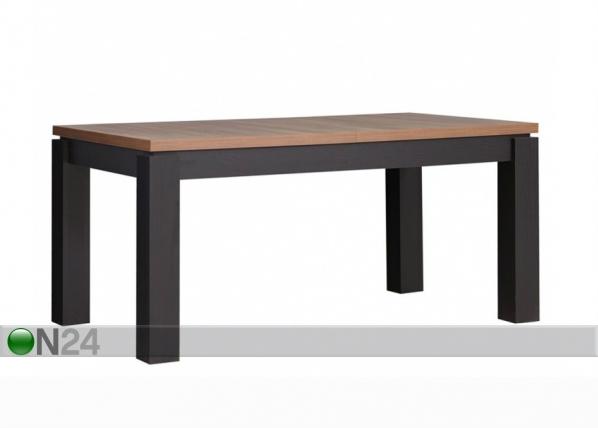 Jatkettava ruokapöytä 160-207x90 cm TF-105817