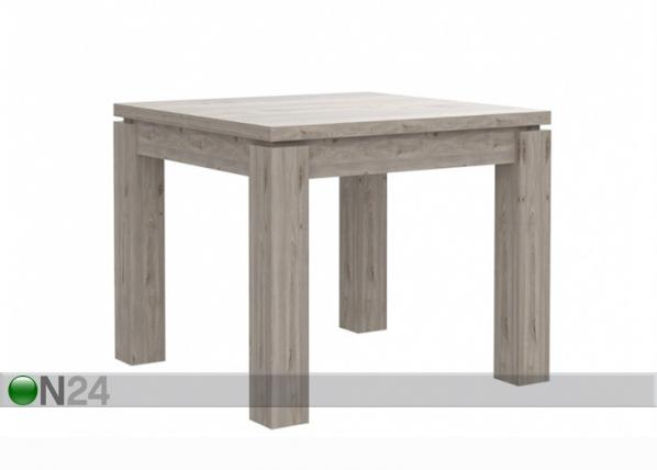 Jatkettava ruokapöytä 90-180x90 cm TF-106107