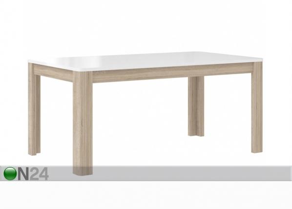 Jatkettava ruokapöytä 160-207x90 cm TF-106691
