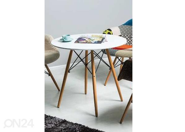 Ruokapöytä MONO Ø 80 cm WS-106913