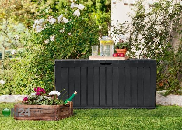 Säilytyslaatikko puutarhaan KETER MARVEL PLUS 270 L TE-108712