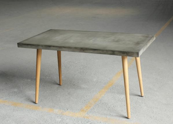 Ruokapöytä CEMENT 140x70 cm AY-108849