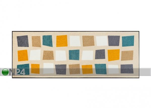 Matto BOXPARK GOLD 75x190 cm A5-109346