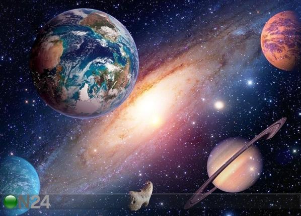 Fleece-kuvatapetti UNIVERSE 360x270 cm ED-109403
