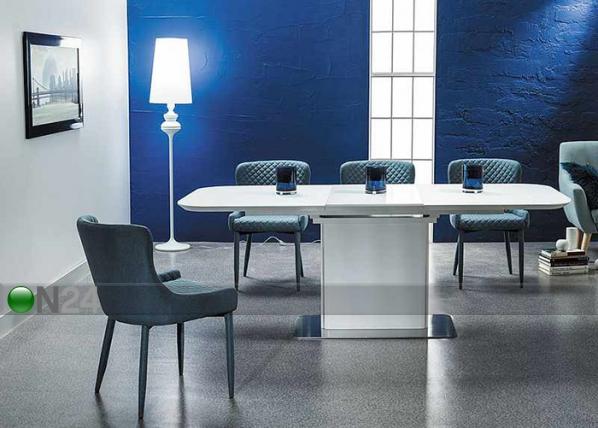 Jatkettava ruokapöytä PRADA 160-210x90 cm WS-109590