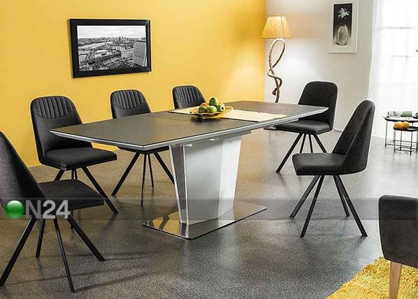 Jatkettava ruokapöytä LAZZIO 160-210x95 cm WS-109591