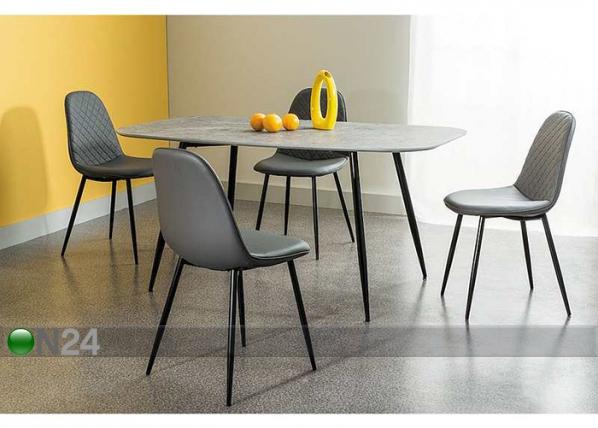 Ruokapöytä LACONI 160x90 cm WS-109592