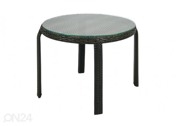 Apupöytä WICKER Ø 52 cm EV-110213
