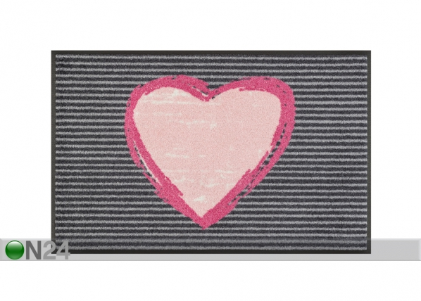 Matto ROSE HEART 50x75 cm A5-110218