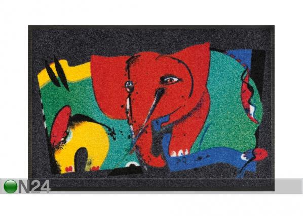 Matto REFRESHING ELEPHANTS 50x75 cm A5-110481