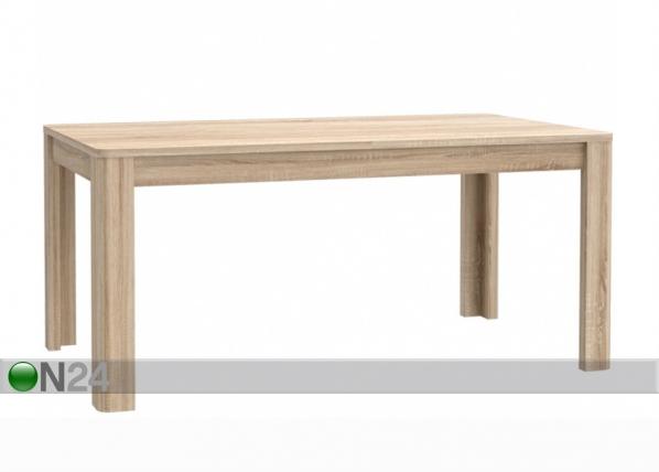 Jatkettava ruokapöytä 90x160-207 cm TF-111775