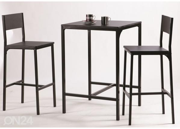 Baaripöytä+2 baarituolia KOOL CM-111778