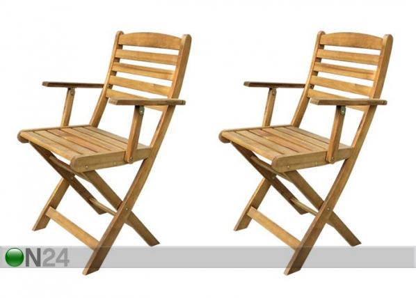 Kokoontaitettava puutarhatuoli VENEZIA, 2 kpl SI-112302