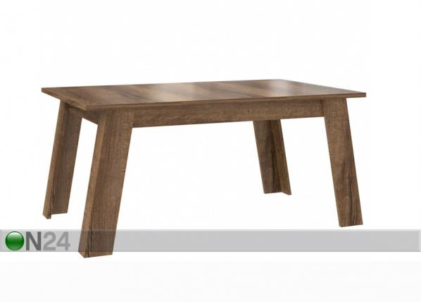 Jatkettava ruokapöytä 100x162-206 cm TF-112517