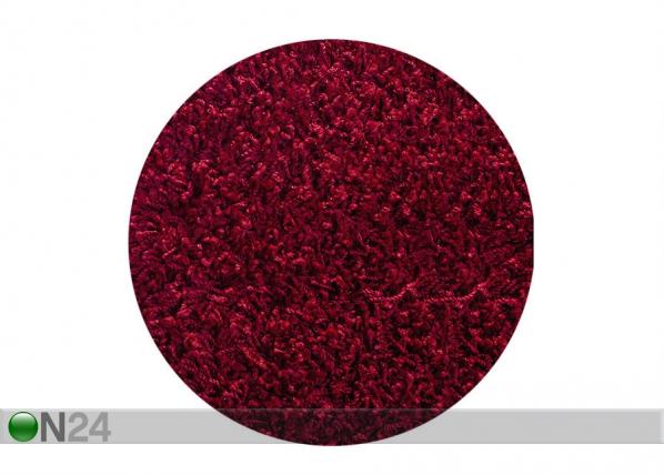 Pyöreä, pitkäkarvainen matto Ø140 cm AA-112692