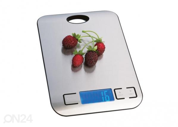 Digitaalinen keittiövaaka/kello enintään 5 kg ET-113845