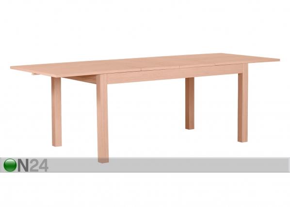 Jatkettava ruokapöytä NANO 160-240x90 cm MA-114200