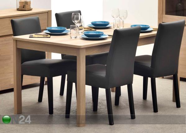 Jatkettava ruokapöytä NORDI 160-240x90 cm MA-114249