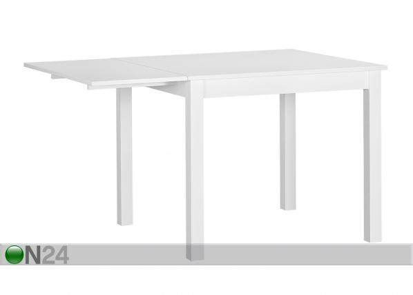 Jatkettava ruokapöytä NOVA 90-130x90 cm MA-114351