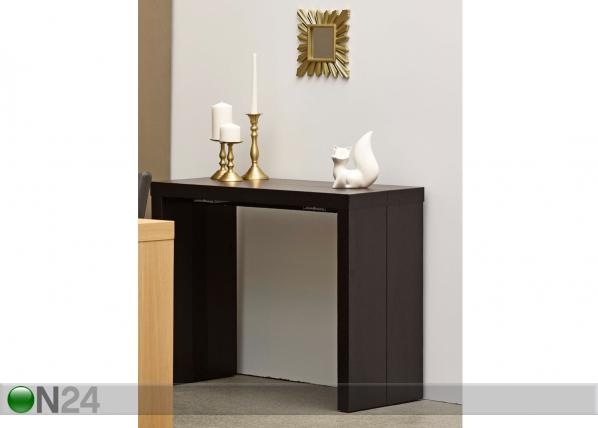 Seinäpöytä/jatkettava ruokapöytä HELENA 43-200x95 cm MA-114896