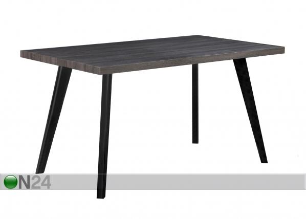Ruokapöytä CHICAGO 140x80 cm TS-115100
