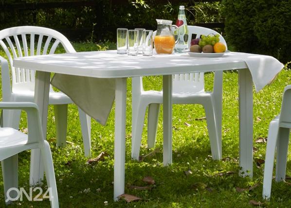 Muovinen puutarhapöytä FARO SI-115746
