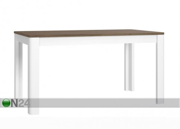 Jatkettava ruokapöytä 160-206x90 cm TF-116618