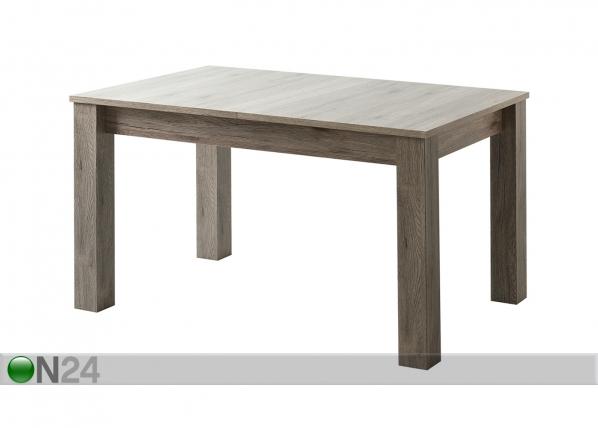 Jatkettava ruokapöytä 135-175x85 cm TF-117135