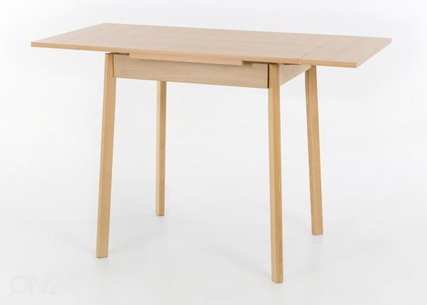 Jatkettava ruokapöytä TRIER II 75-112x55 cm SM-117702