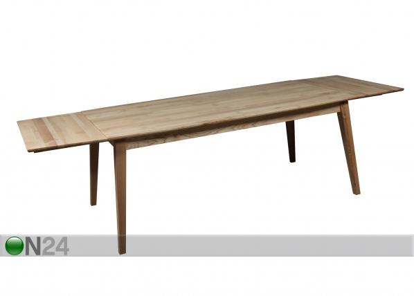 Jatkettava ruokapöytä URBANO 180+270x95 cm RM-118391