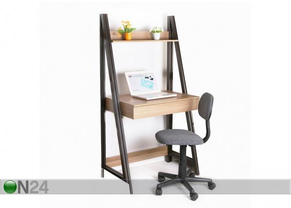 Työpöytä hyllystöllä STEP EV-118930