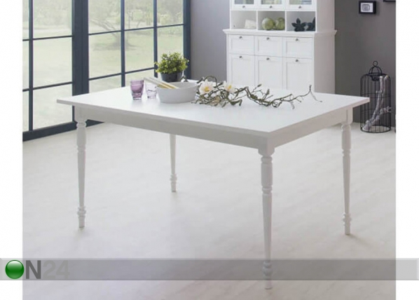 Jatkettava ruokapöytä LANDWOOD 90x160-200 cm AQ-119390