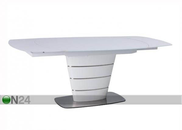 Jatkettava ruokapöytä AURELIO 100x140-200 cm WS-119476
